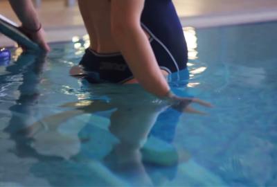 Заняття для вагітних у басейні Гран-прі
