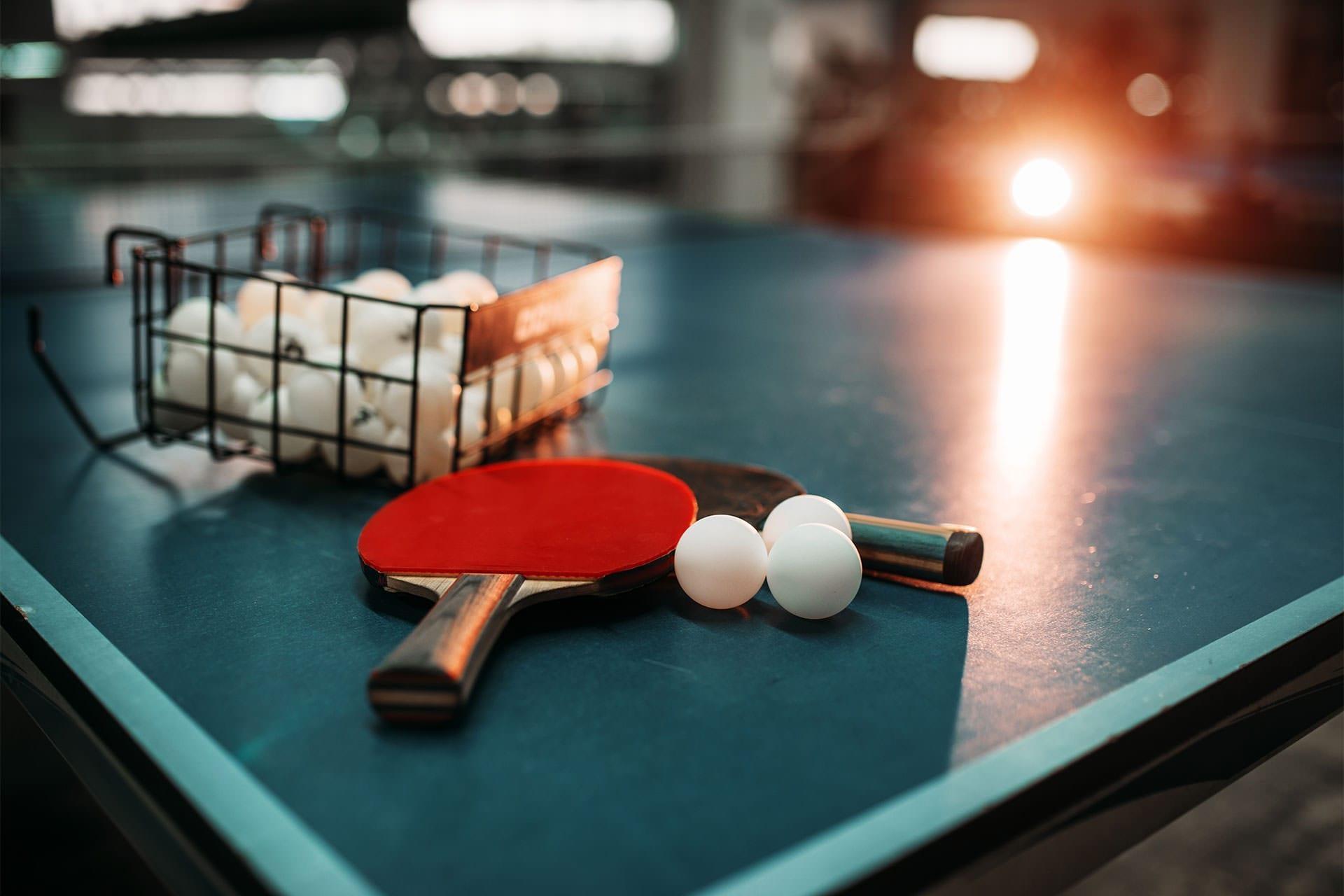 Польза занятий настольным теннисом