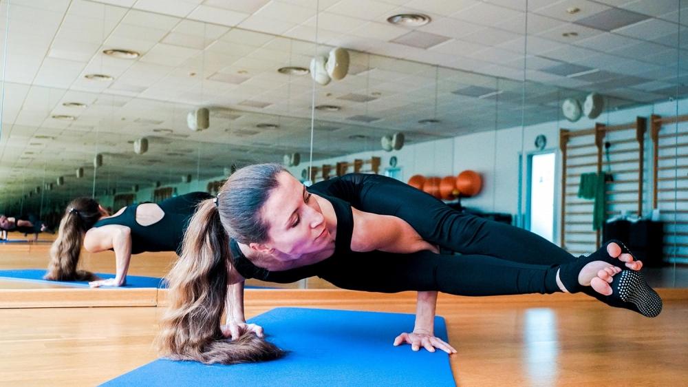 Инструктор по йоге Юлия Ященко